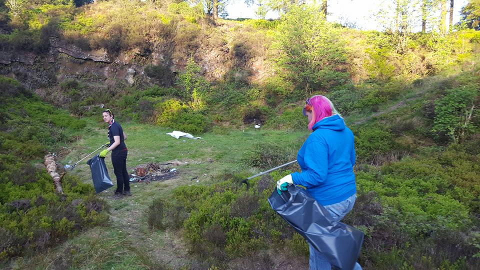 Scouts Restore Blighted Beauty Spot