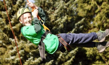 East Lancashire Cub Scouts take on Cubs 100 years Adventure Camp