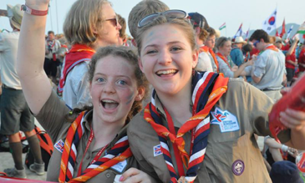 Ain't no party like a world Scout party
