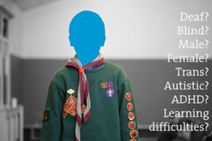 A Cub Scout