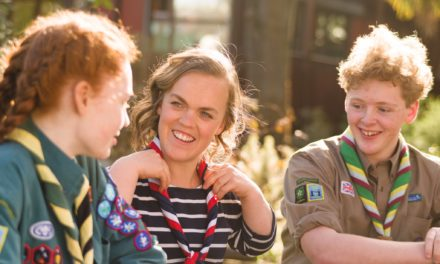 Five new Scout Ambassadors join the Movement