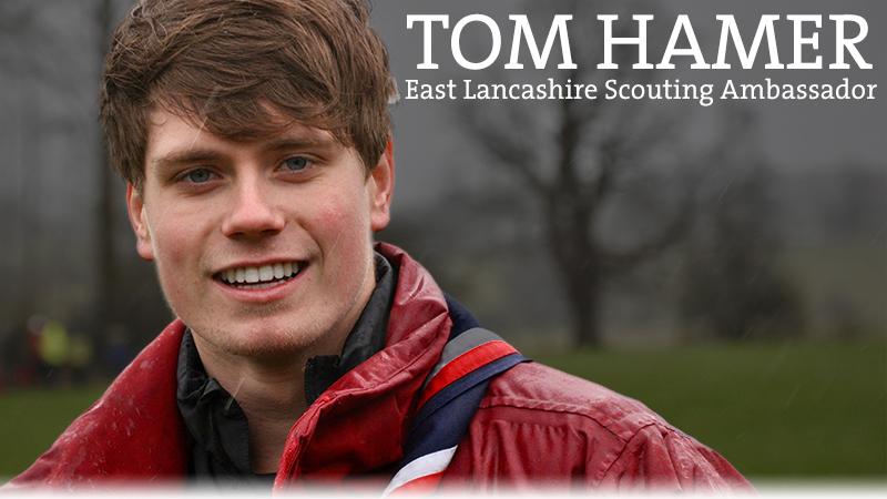 Tom Hamer - East Lancashire Scouts Ambassador