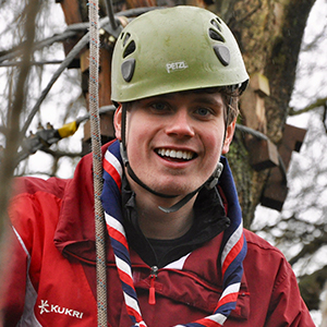 Tom Hamer does Outdoor Activities with the Scouts