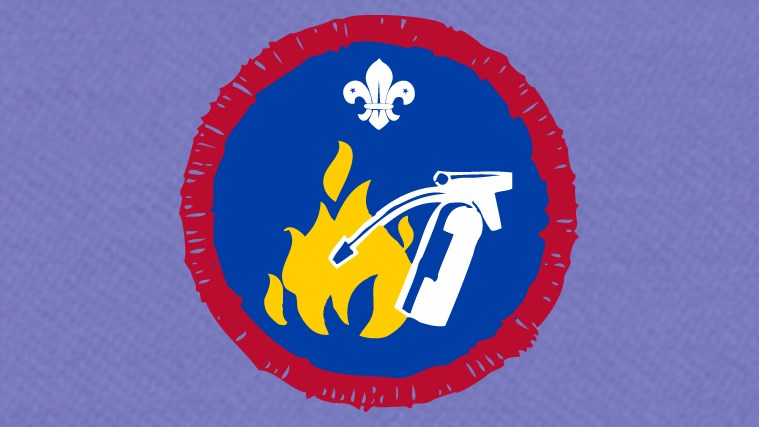 Badge support – Fire Safety
